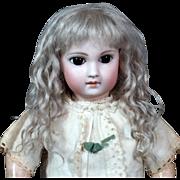Amalie ~ Ash Blond Mohair Wig (Size 12-13)
