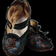 Early Jumeau Shoes size 9