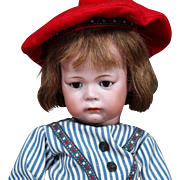 "German Bisque Pouty character toddler 115A ""Phillip"" by Kammer & Reinhardt"