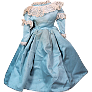 Cotton  Lady Dress for China Doll