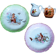 Children's Plates and Creamers