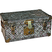 Small Litho Doll Trunk