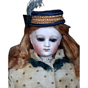 Early Pale French Fashion in Antique Ensemble