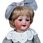 K*R 126 Bisque Toddler in Small Size