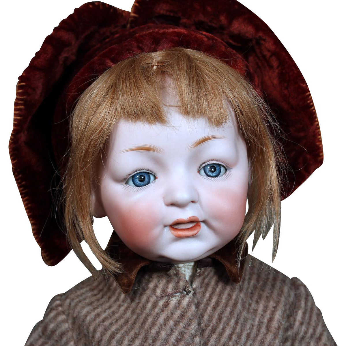 German Bisque Character toddler Samy by Kestner