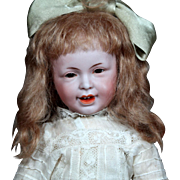 French Bisque Character SFBJ 235 as Young Girl