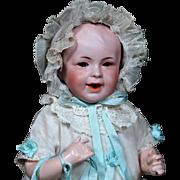 RARE SFBJ 242 French Nursing Baby, Original Clothing