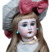 Sonneberg German Bisque Child Doll