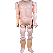 LARGE Marked Handwerck Body in Original Condition