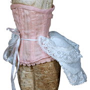 Corset and Bustle for Small French Fashion Poupee