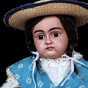 Antique Handwerck 79 Mulatto Bisque Doll