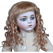 Cheri ~ Strawberry Blond Mohair Wig (Size 8-9)