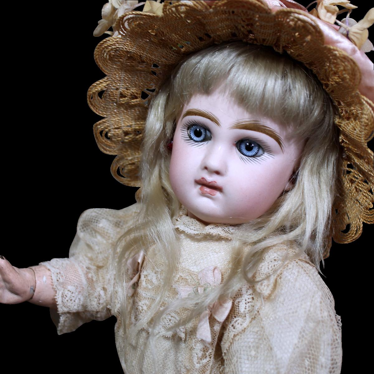 Tiny Tete Jumeau Size 3 ~ Fabulous Eyes!