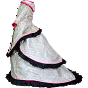 Three Piece Ensemble for Small French Fashion Doll