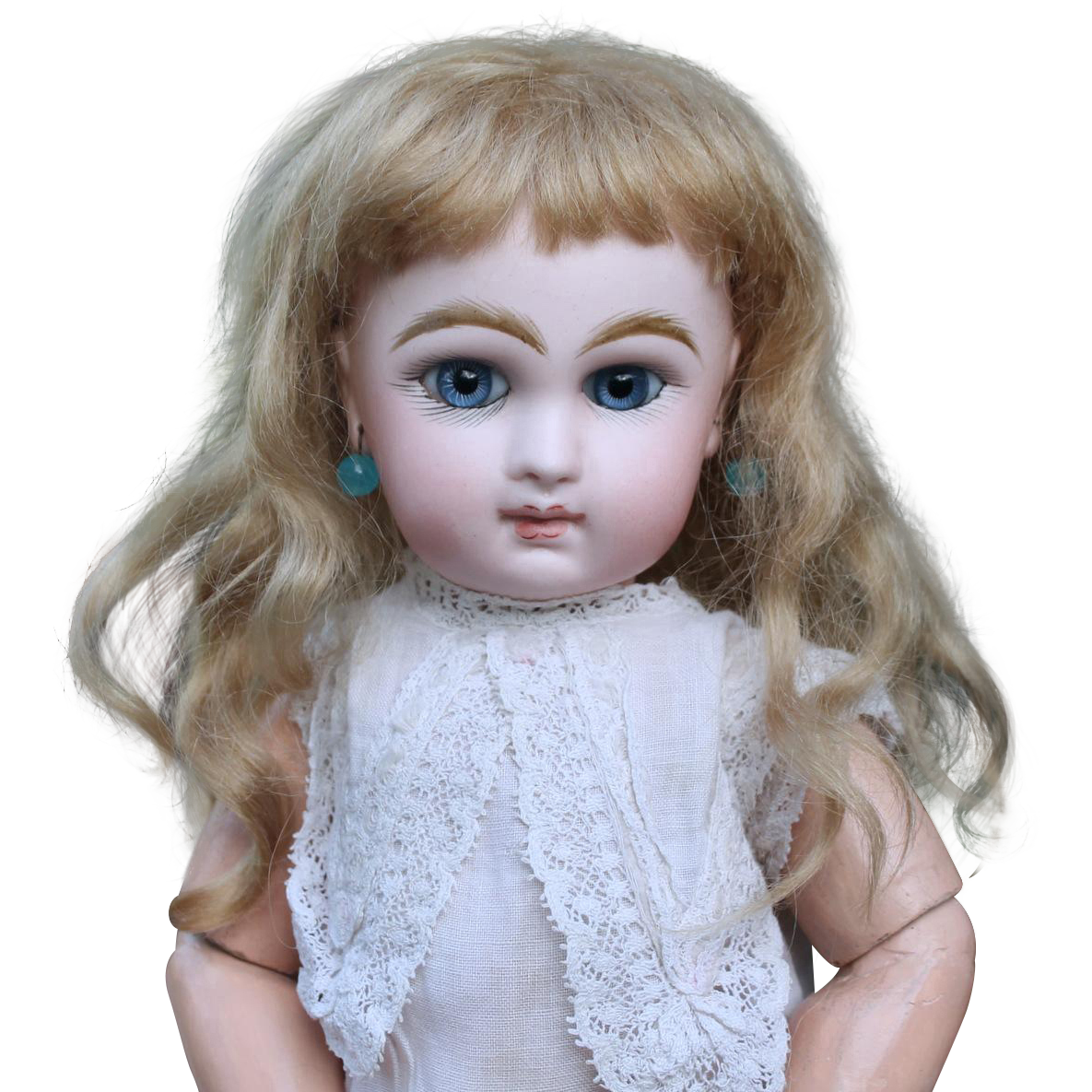 Chloe ~Blond Mohair Wig (Size 8-9)