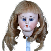 """German Sonneberg Doll head with Paperweight Eyes to make 13"""" Doll"""