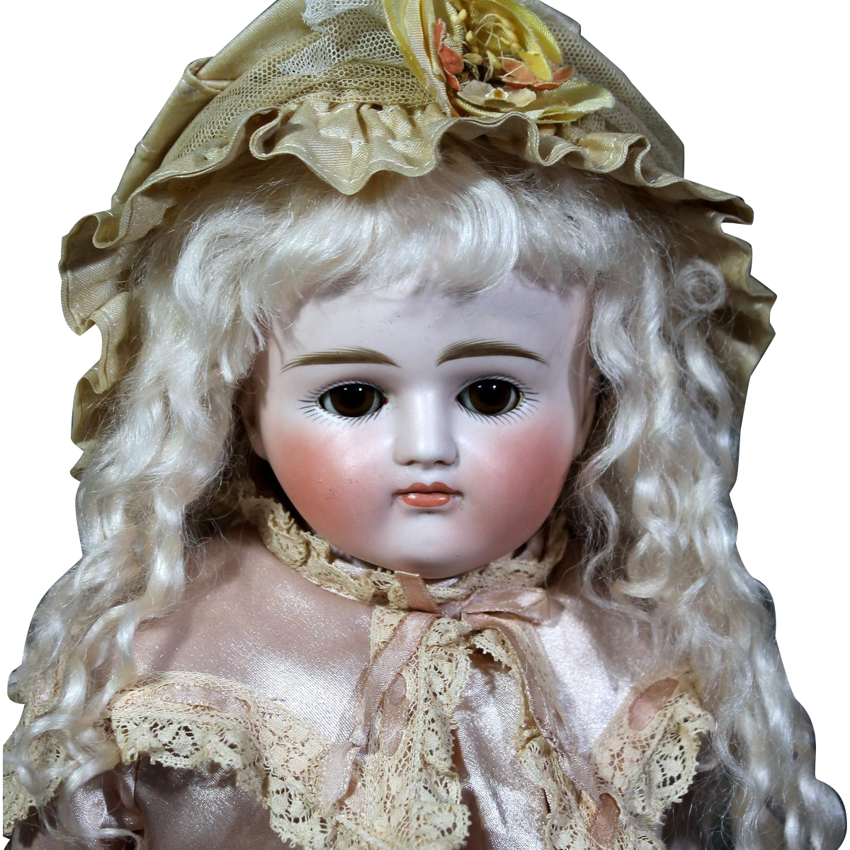 Chunky Kestner Pouty German Bisque Doll