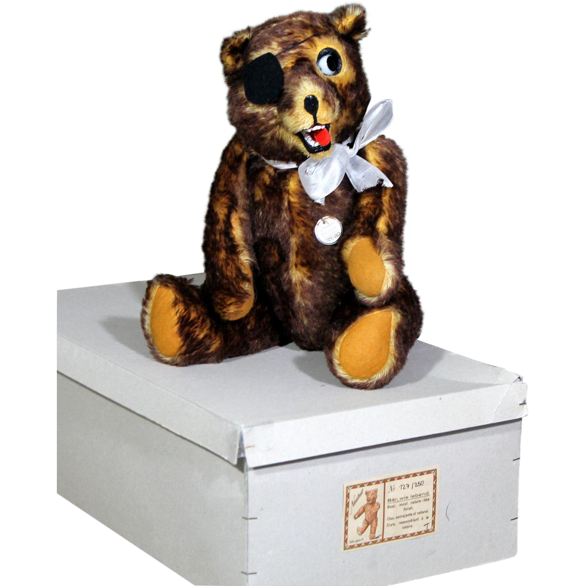 "Rare Boxed ""PETER"" Bear by Gebruder Sussenguth, 1925"