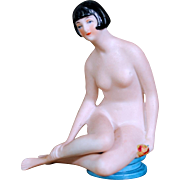 German Bisque Flapper Bathing Beauty