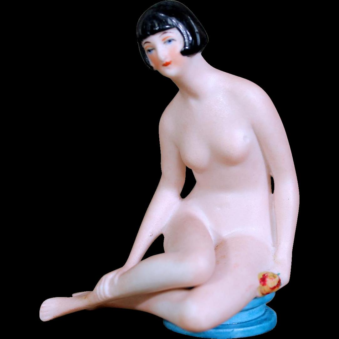 German Bisque Flapper Bathing Beauty