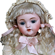 Kestner 143 German Bisque Character, 12""