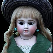 Bru-Faced German Bisque Sonneberg Child