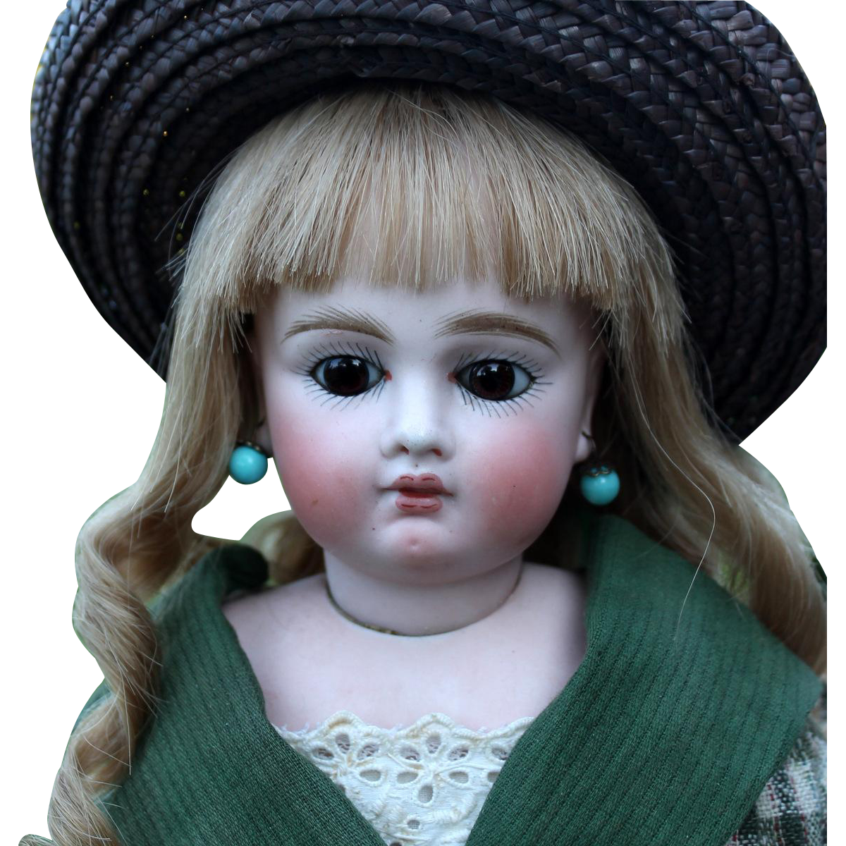 Bru-Faced German Bisque Sonneberg Child
