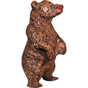 Carved Wood Miniature Bear