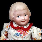 Gebruder Heubach Googly with Sculpted hair