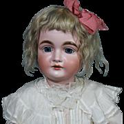 Large Kestner 164 Child Doll in Antique Clothing