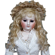 Grace ~ Light Blond Mohair Wig (Size 7-8)