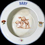 Kewpie Baby Dish