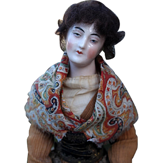 Uncommonly Found French Pandore China Fashion Doll ~ All Original