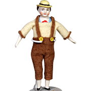Dollhouse Boy with Molded Hat