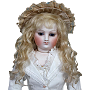 Grace ~ Light Blond Mohair Wig (Size 6-7)