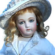 Early Portrait Jumeau French Fashion Doll
