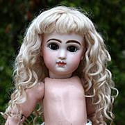 Amalie ~ Ash Blond Mohair Wig (Size 8-9)