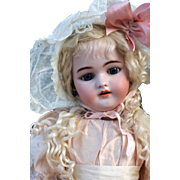 Simon Halbig 1079 DEP in Lovely Antique Costume, 24 inches