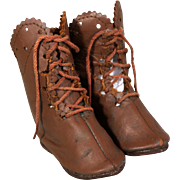 "French Boots marked ""ELJ"""