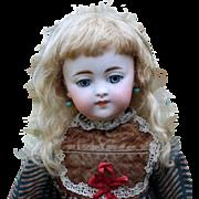Chloe ~ (Size 10-11) Dark Blond Mohair Wig