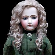 Helen ~ Ash Blond Mohair Wig No Bangs (Size 10-11)