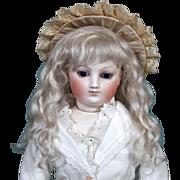 Amalie ~ Ash Blond Mohair Wig (Size 6-7)