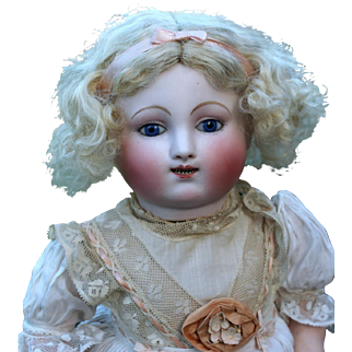 Early Steiner Gigoteur Mechanical Child Doll