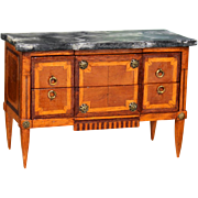 Louis XVI  Commode  by renown Minature French artist Pat Herbillon