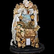 Grand Victorian Luxurious 'Globe de Mariée'