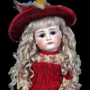 Small Kestner Pouty Doll fabulously Dressed