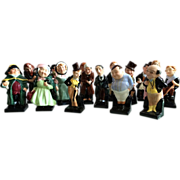 16 Royal Doulton Dickens Figurines
