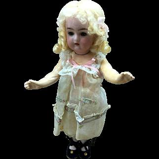 "K*R Halbig Bisque Socket Head Doll 9"""