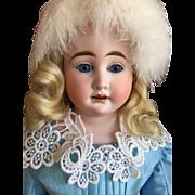 Pretty Cuno & Otto Dressel Bisque Shoulder Head Doll