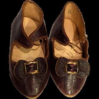 Bru Jne Paris 10  Doll Shoes